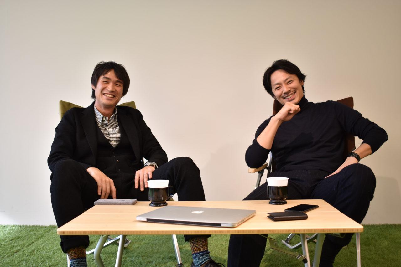 左:横田真人 右:池田信太郎