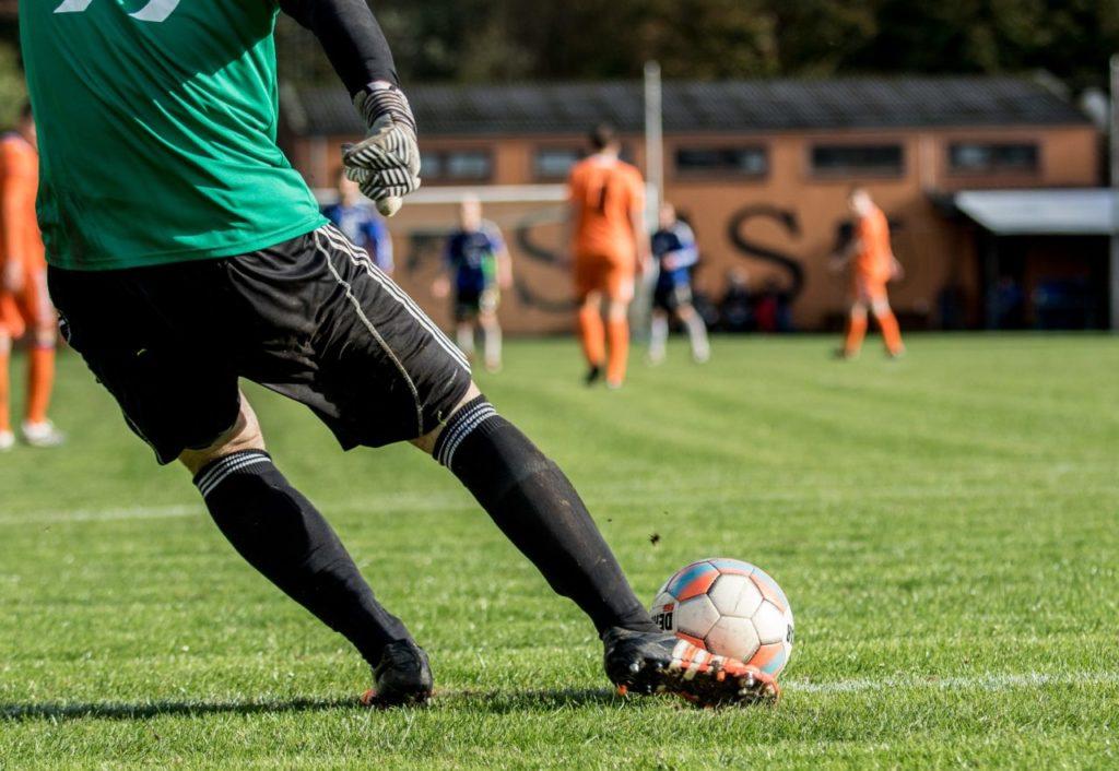 アスリートサッカー選手
